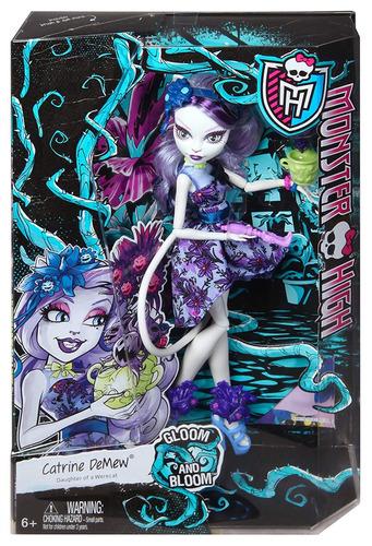 monster high gloom n bloom catrine demew doll