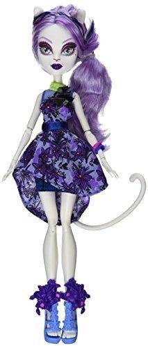 monster high gloom 'n bloom catrine demew doll!