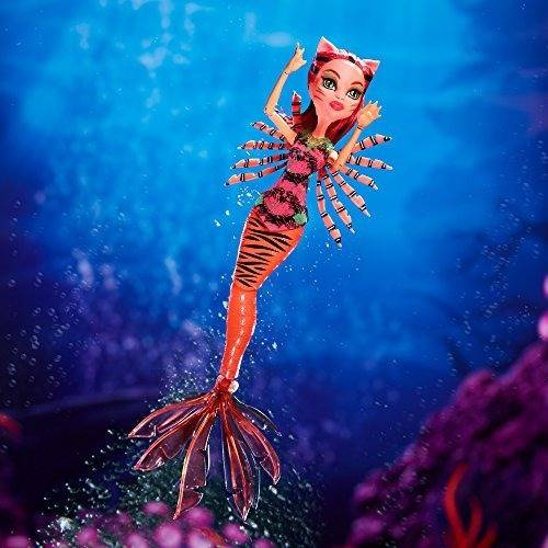 monster high gran scarrier reef glowsome ghoulfish toralei d