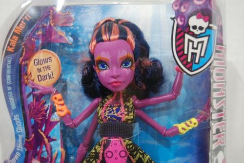 monster high great scarrier reef * muñeca kala mer \ 'ri 11