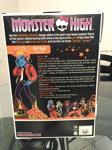 monster high holt hyde 1er. edición