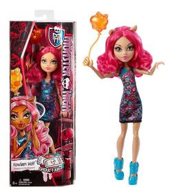 Monster High Howleen Wolf Ghoul Fair Muñeca 30 Cm Mattel