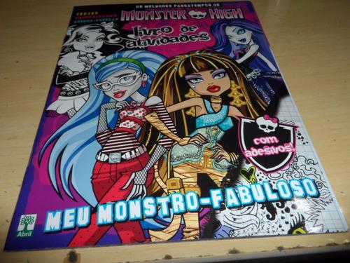 monster high - livro de atividades - meu monstro-fabuloso