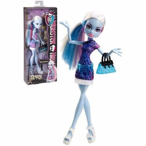 monster high mattel scaris básica - abbey bominable y0392