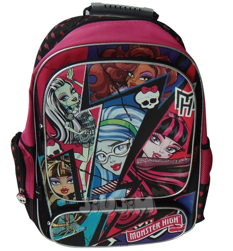 monster high mochila escolar