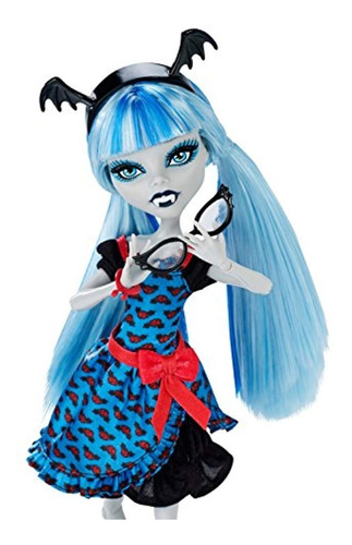 monster high monstruo freaky fusion ghoulia yelps doll
