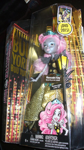 monster high mouscedes king boo boo york york gala ghoulfrie