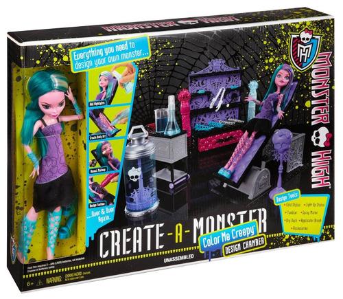 monster high nuevo laboratorio