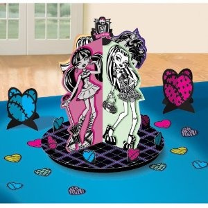 monster high pieza central kit de 23 pc.