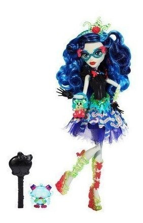 monster high sweet screams  ghoulia yelps doll por mattel