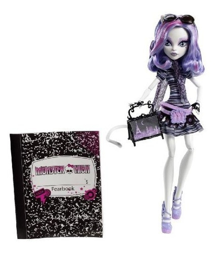 monster high travel catrine demew scaris city of frights exc