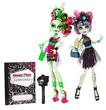 Monster High Zombi Shake Rochelle Goyle Y Venus Mcflytrap M ...