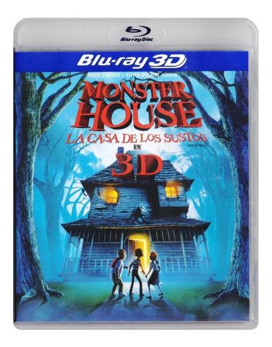 monster house la casa de los sustos pelicula blu-ray 3d