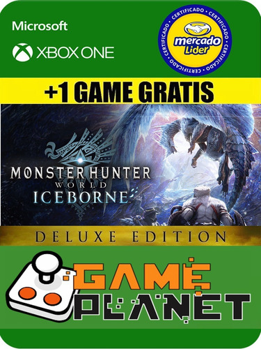 monster hunter deluxe iceborn - xbox one - online/offline