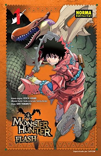 monster hunter flash! 1 (shonen - monster hunte envío gratis