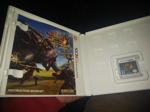 monster hunter nintendo 3ds