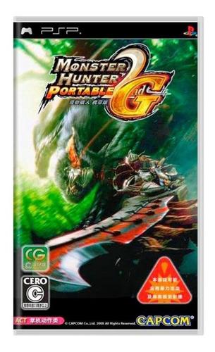 monster hunter portable 2nd g psp mídia física