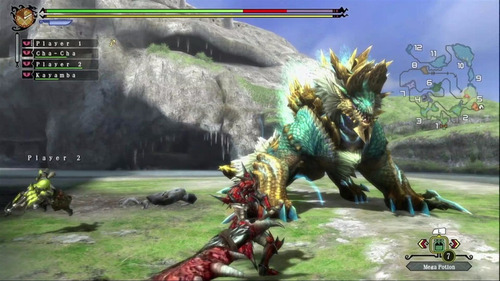 monster hunter tri -juego -wii