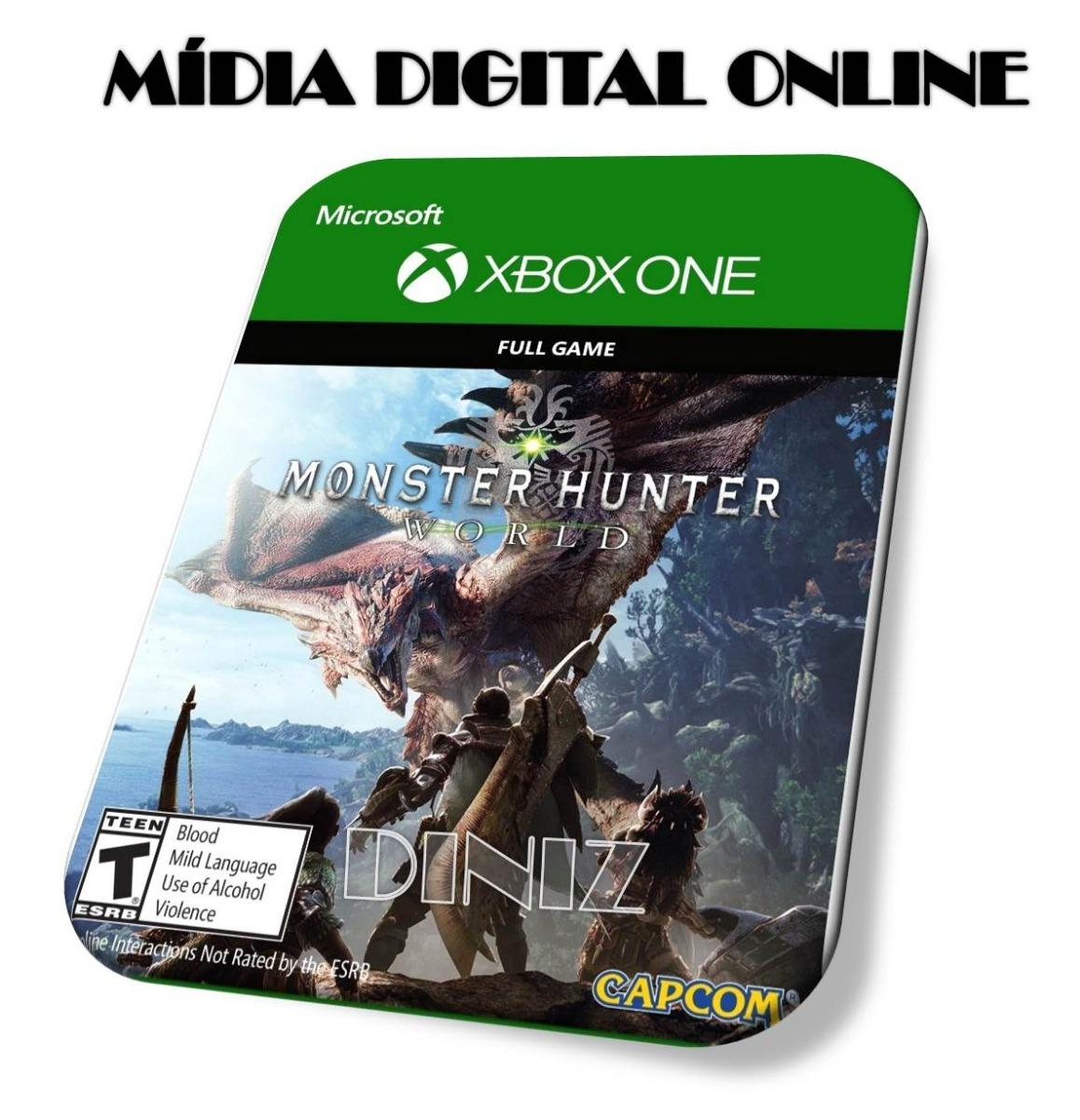 74df4499cce Monster Hunter  World Edição De Luxo Mídia Digital Online Ct - R  90 ...