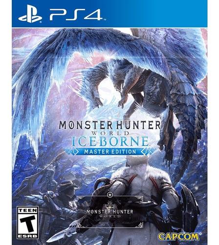 monster hunter world iceborne ps4 mídia física