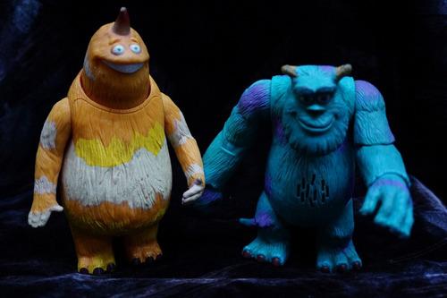 monster inc i, soliman y amigo