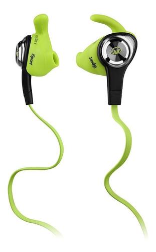 monster isport intensity auriculares intraurales, verde