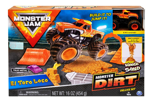 monster jam auto y kinect sand playset gr cod 58706 bigshop