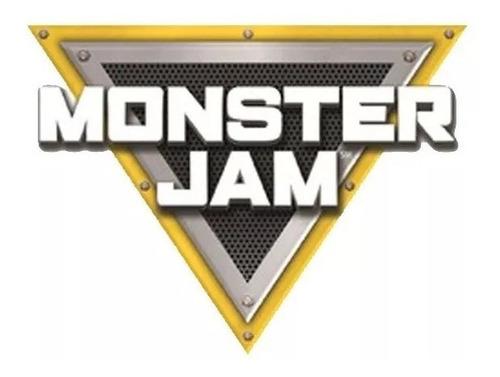 monster jam camioneta megalodon radio control 1:24