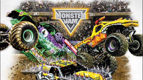 monster jam - monster truck set acrobatico - fair play toys