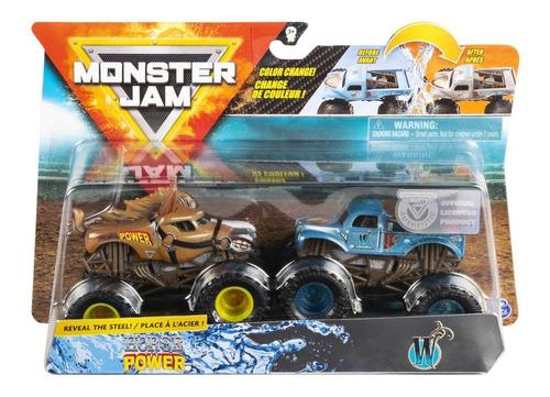 monster jam truck carrinhos horse power x w 1:64 sunny 2020