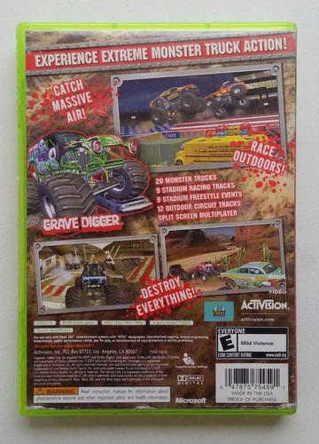 monster jam xbox 360 garantizado