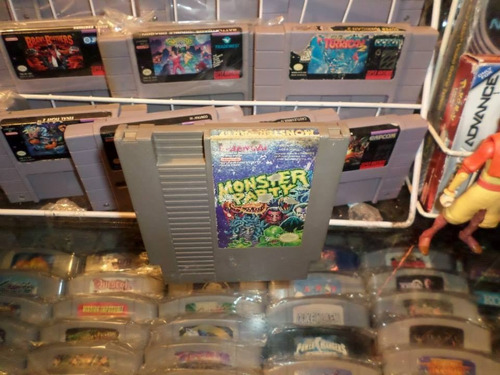 monster party nintendo nes cartucho