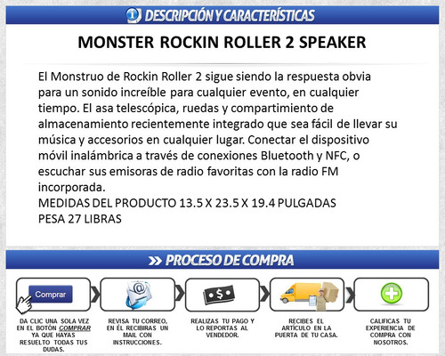 monster rockin roller 2 manual