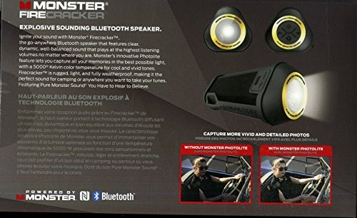 monster superstar speaker firecracker altavoz inalámbrico b
