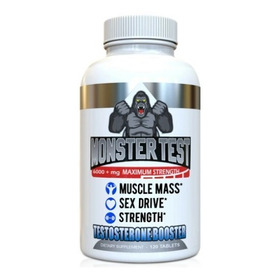 Monster Test Pack 120 Capsulas - Unidad a $583