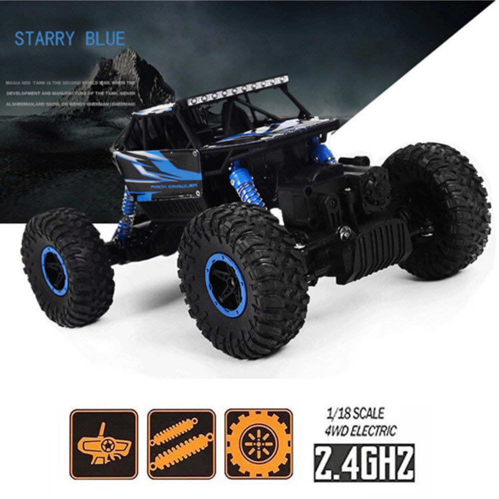 Monster Truck 2.4g Control Remoto Rock Crawler Off Road 4wd ...