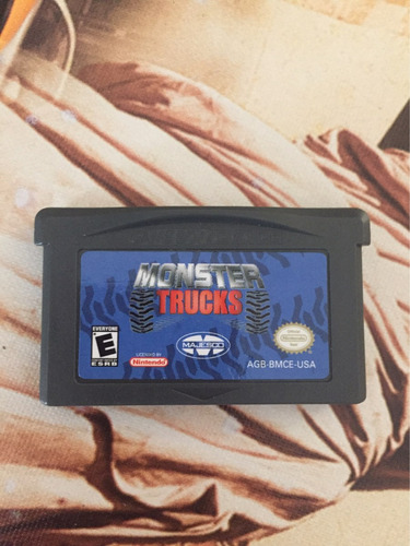 monster trucks - gameboy advance
