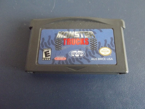 monster trucks original para game boy advance