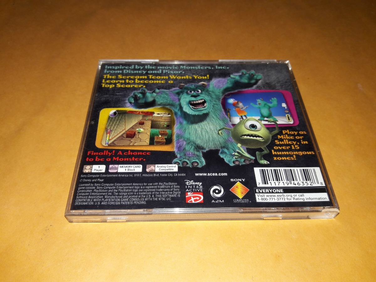 Monsters Inc Top Scarer