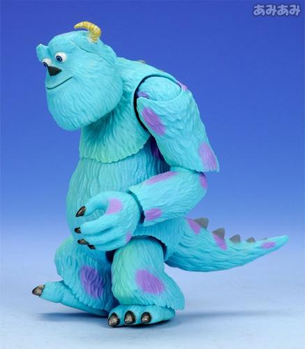 monsters inc sulley boo revoltech original disney pixar geek