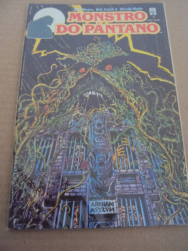 monstro do pântano # 09 - dc comics - abril