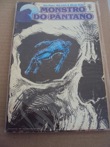 monstro do pântano # 11 - dc comics - abril