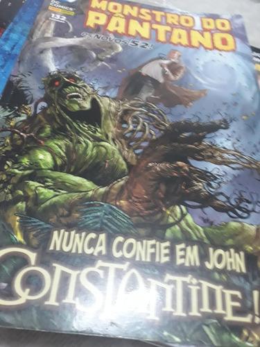 monstro do pântano novos 52/ nunca confie em johnconstantine
