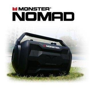 monstruo nomad | altavoz bluetooth portatil de 30 vatios 30