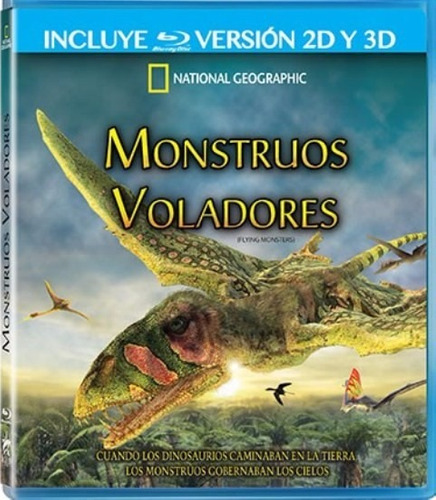 monstruos voladores / national geographic - blu ray