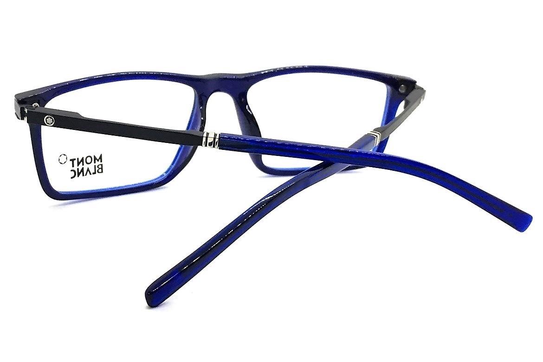 e1bb0f6fc21bc Carregando zoom... armação óculos grau original mont blanc acetato leve 12x