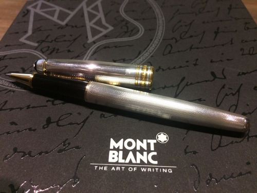 mont blanc caneta