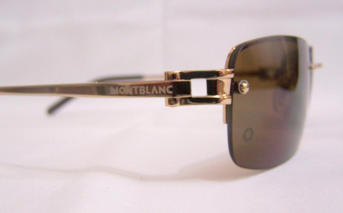 Mont Blanc Oculos De Sol !!top De Linha !! - R  769,99 em Mercado Livre 38bf756951
