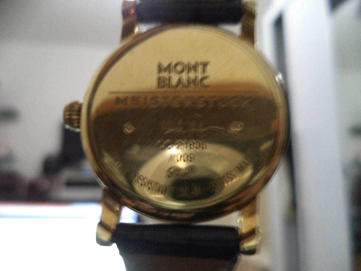 2ce0d885532 mont blanc relógio. Carregando zoom.