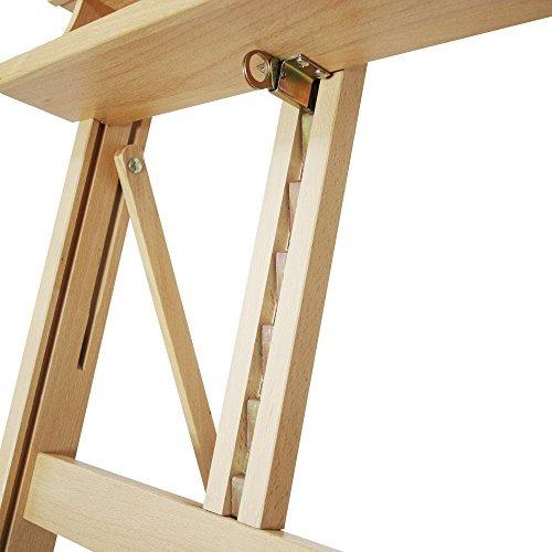 mont marte gran estudio caballete wruedas madera de haya